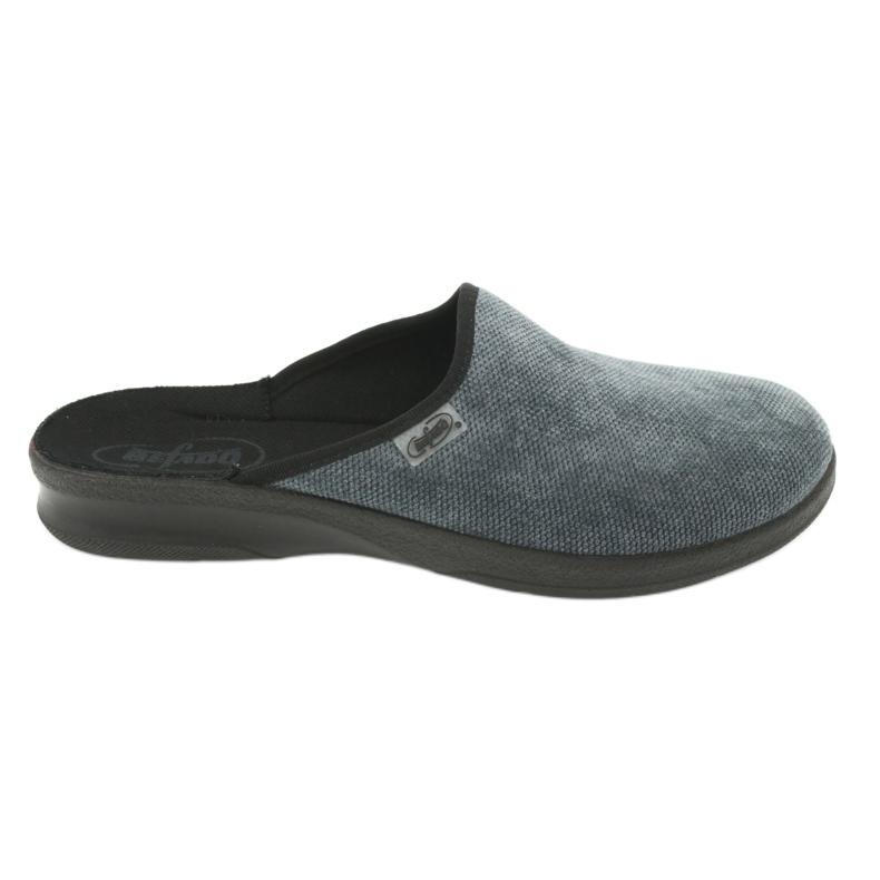 Befado obuwie męskie pu 548M017 szare