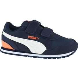 Buty Puma St Runner V Infants 365295 15 granatowe