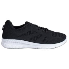 Renda Ażurowe Buty Sportowe czarne