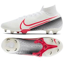 Buty piłkarskie Nike Mercurial Superfly 7 Elite Fg M AQ4174 160 białe białe