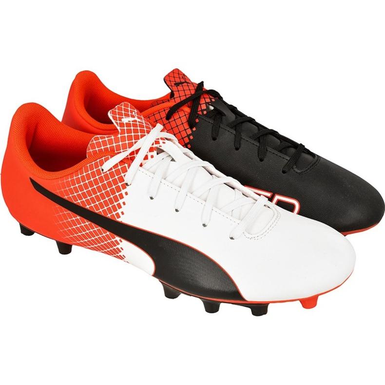 Buty piłkarskie Puma evoSPEED 5.5 Tricks Fg M 10359603 wielokolorowe czerwone