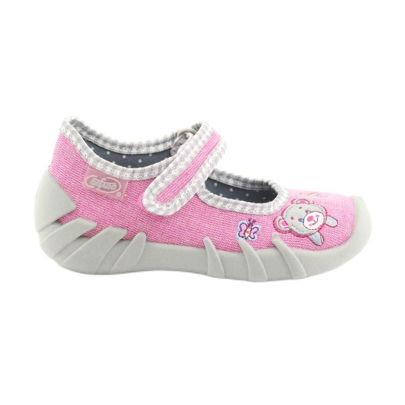 Befado obuwie dziecięce 109P180 różowe