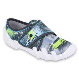 Befado obuwie dziecięce 273X284 szare zielone