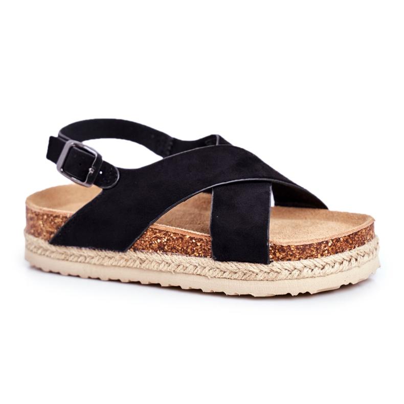 Sandałki Dziecięce Big Star Czarne FF374168