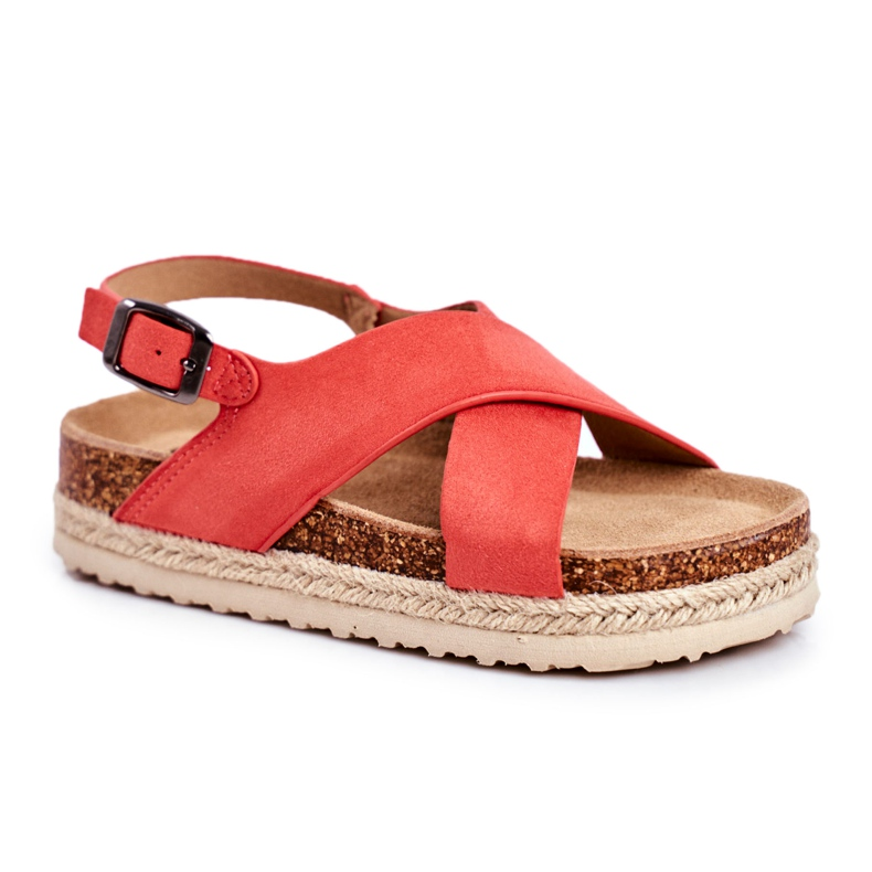 Sandałki Dziecięce Big Star Koral FF374171 różowe