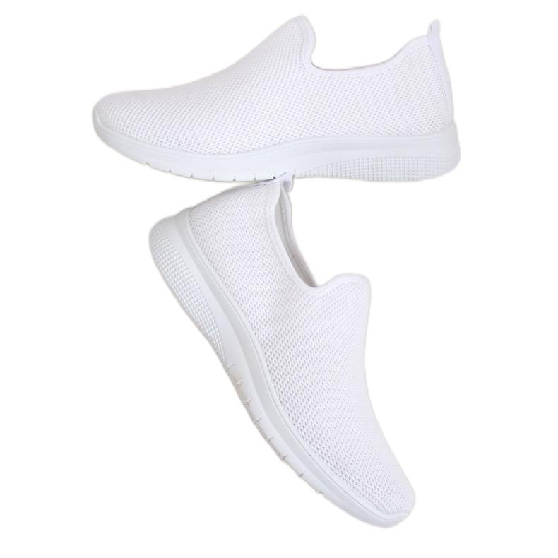 Obuwie sportowe białe 7079 White