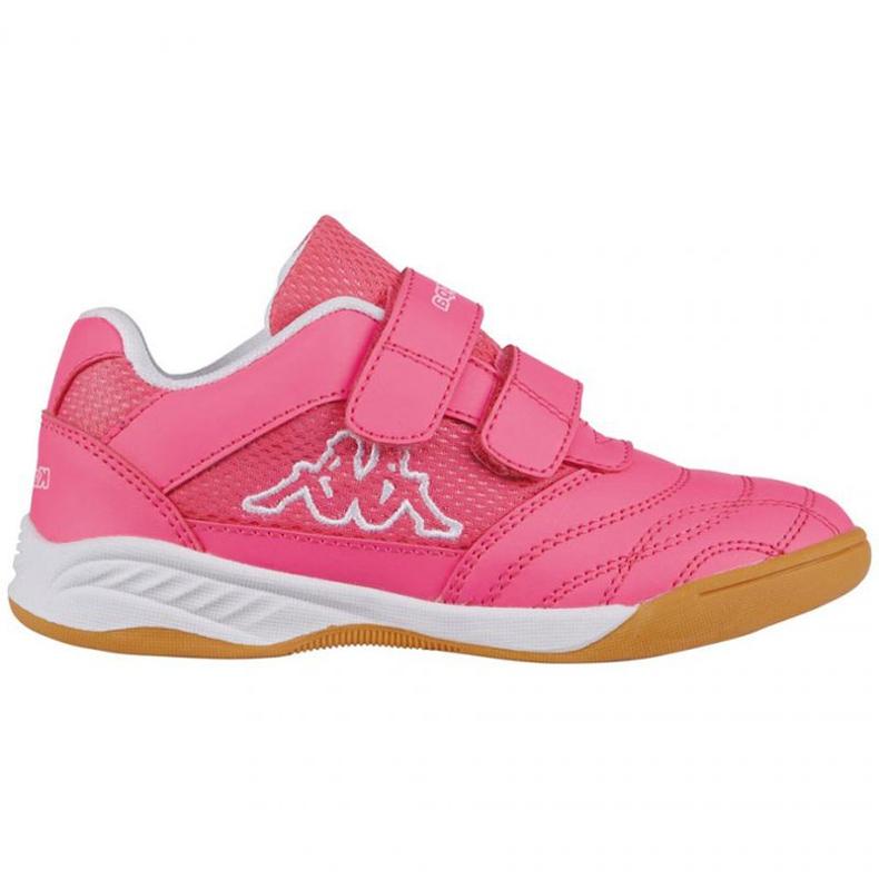 Buty halowe Kappa Kickoff Jr 260509K 2210 różowe