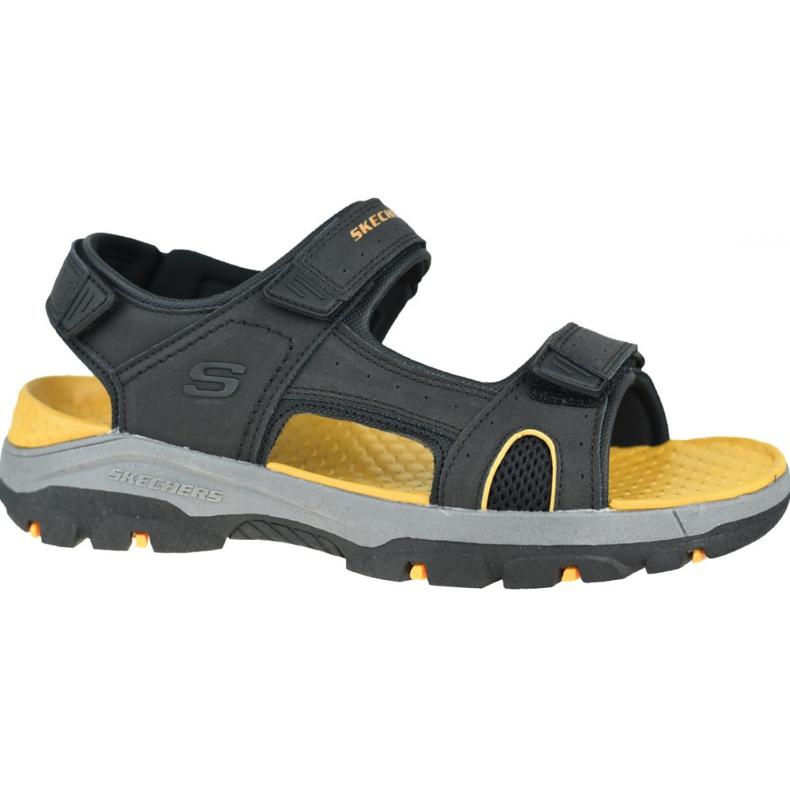 Sandały Skechers Tresmen-Hirano M 204106-BLK czarne