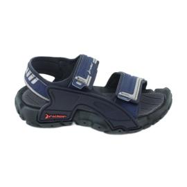 Sandałki chłopięce 82817 Rider TENDER XI KIDS granatowe niebieskie szare