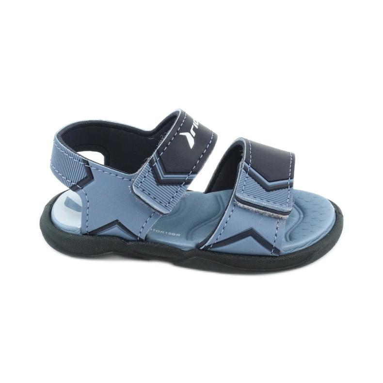RIDER sandały dziecięce Comfort BABY 82746 granatowe niebieskie