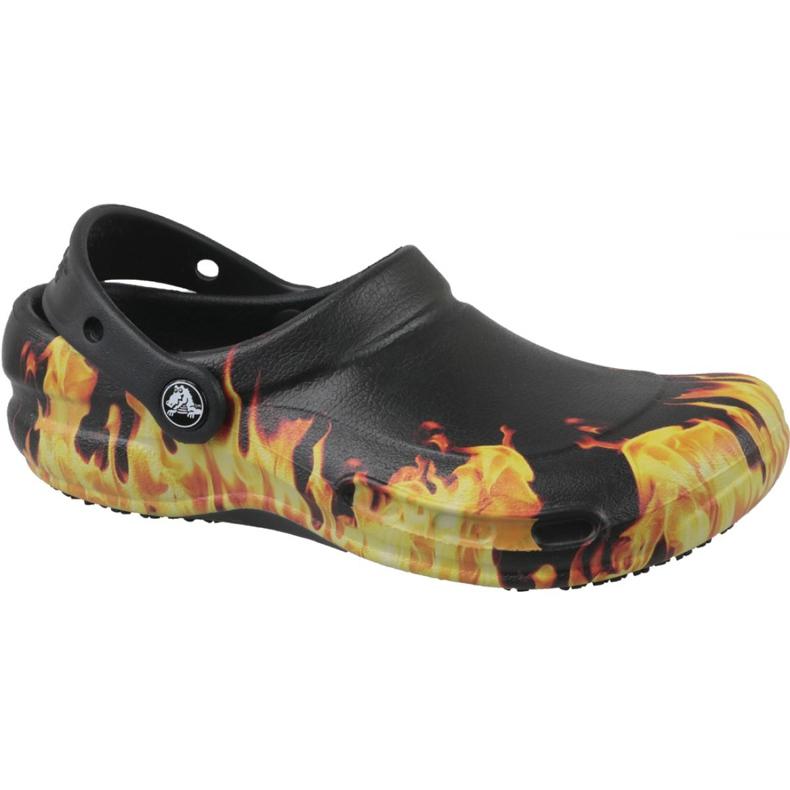 Klapki Crocs Bistro Graphic Clog M 204044-001 czarne