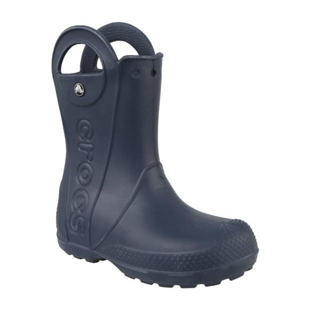 Kalosze Crocs Handle It Rain Boot Kids Jr 12803-410 granatowe
