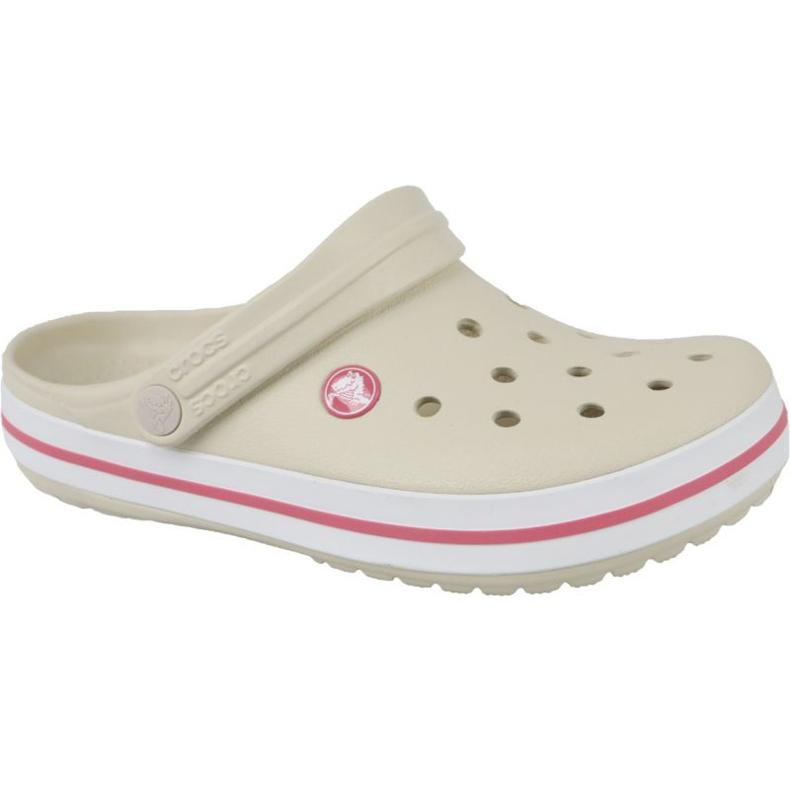 Klapki Crocs Crocband Clog Jr 204537-1AS brązowe czerwone