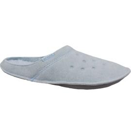 Klapki Crocs Classic Slipper W 203600-4JZ niebieskie