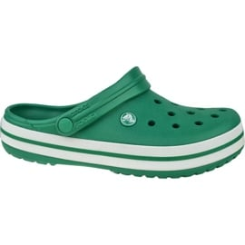 Buty Crocs Crocband 11016-3TL białe zielone