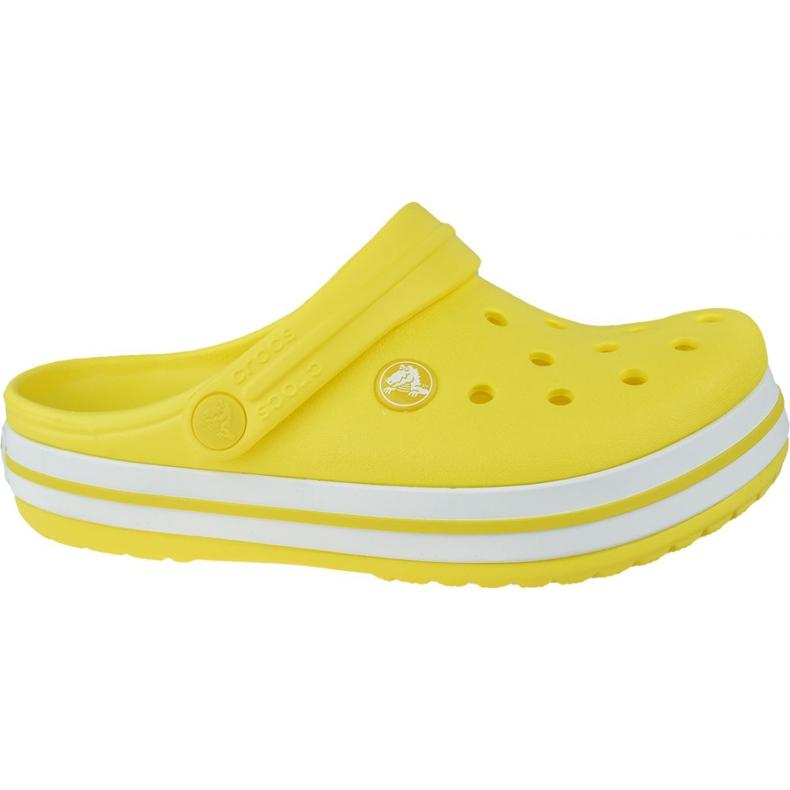 Klapki Crocs Crocband Clog K Jr 204537-7C1 czarne