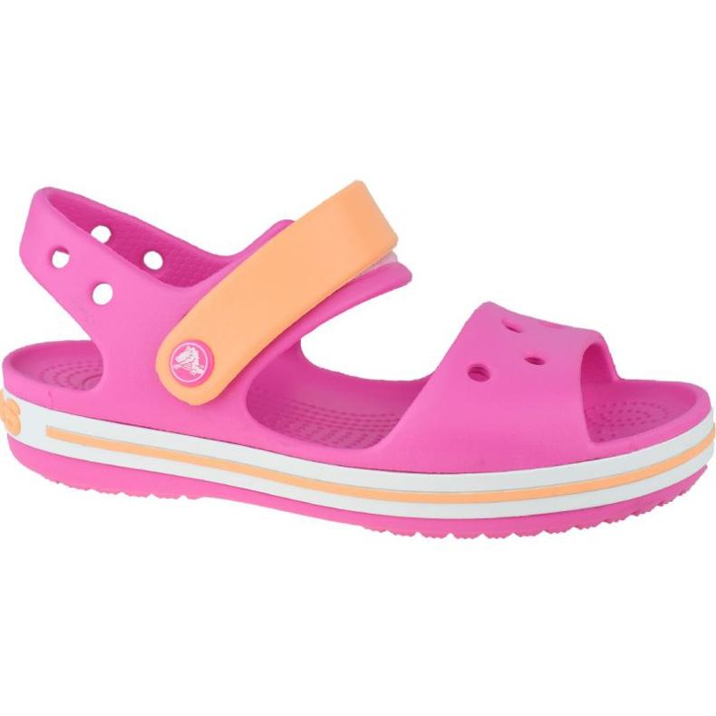 Sandały Crocs Crocband Jr 12856-6QZ różowe