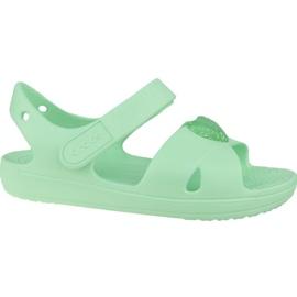 Sandały Crocs Classic Cross-Strap Sandal K 206245-3TI niebieskie