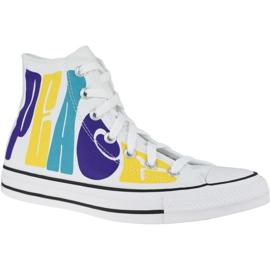 Buty Converse Chuck Taylor All Star Hi Peace W 167892C białe