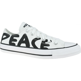 Buty Converse Chuck Taylor All Star Peace 167894C białe