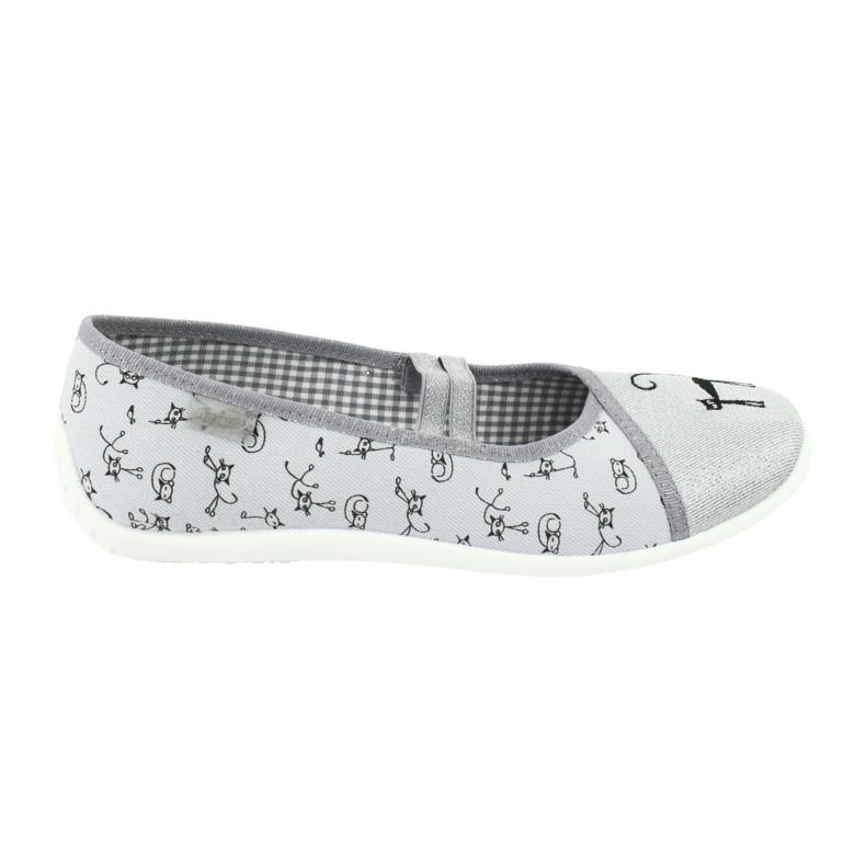 Befado obuwie młodzieżowe 345Q163 szare