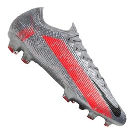 Buty piłkarskie Nike Vapor 13 Elite Fg M AQ4176-906 szare wielokolorowe