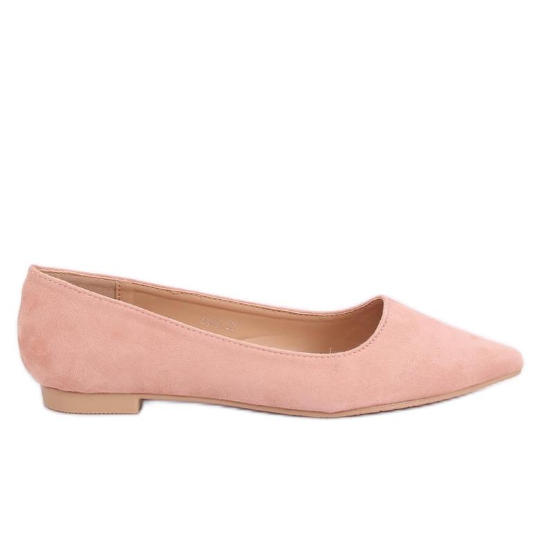 Baleriny w szpic różowe A822 Pink Ii Gatunek