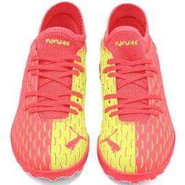Buty piłkarskie Puma Future Jr 5.4 Osg Tt 105952 01 czerwone czerwone