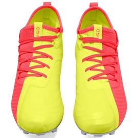 Buty piłkarskie Puma One M 20.2 Osg Fg Ag 105959 01 niebieskie żółte