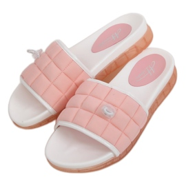 Klapki damskie różowe G-338 Pink