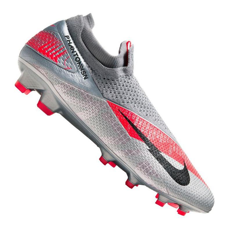 Buty piłkarskie Nike Phantom Vsn 2 Elite Df Fg M CD4161-906 wielokolorowe srebrny