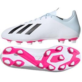 Buty piłkarskie adidas X 19.4 FxG M EF1699 wielokolorowe białe