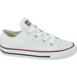 Buty Converse Chuck Taylor All Star Kids 7J256C białe
