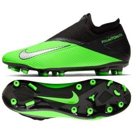 Buty piłkarskie Nike Phantom Vsn 2 Academy Df Fg Mg M CD4156-306 zielone wielokolorowe