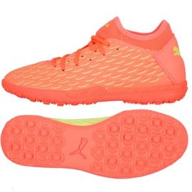 Buty piłkarskie Puma Future 5.4 Osg Tt M 105944 01 pomarańczowe wielokolorowe