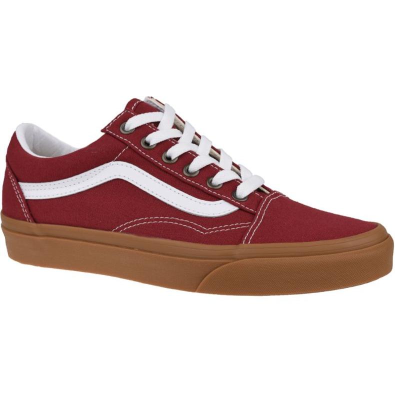 Buty Vans Old Skool VN0A4U3BWZ0 czerwone