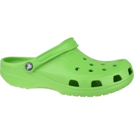 Klapki Crocs Beach M 10002-320 zielone