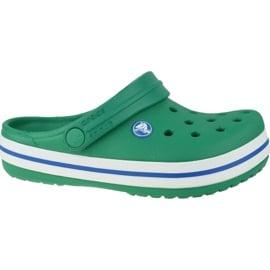Klapki Crocs Crocband Clog K Jr 204537-3TV szare zielone