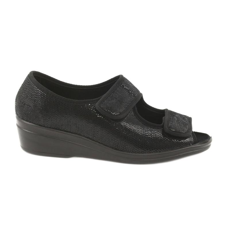 Befado obuwie damskie pu 051D014 czarne