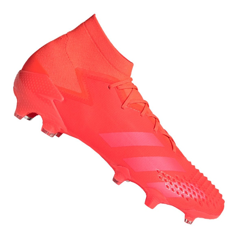 Buty piłkarskie adidas Predator 20.1 Fg M FV3544 czerwone wielokolorowe