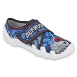 Befado obuwie dziecięce 273Y293 niebieskie