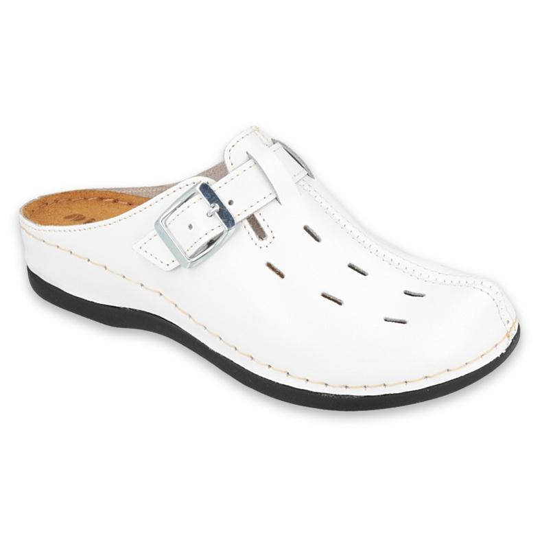 Befado Inblu obuwie damskie 158D143 białe