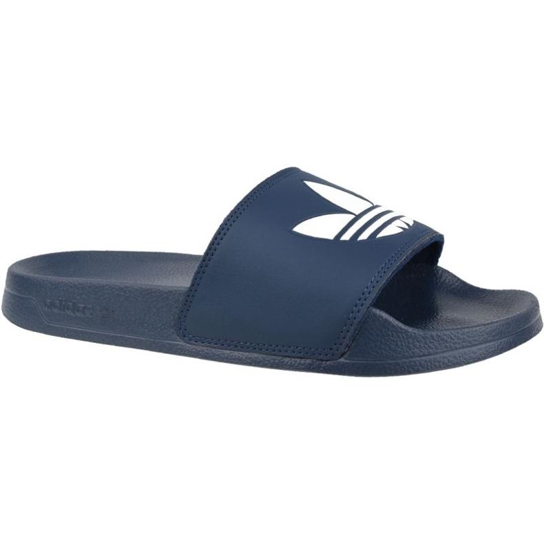Klapki adidas Adilette Lite Slides J FU9178 czarne granatowe