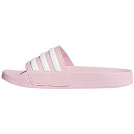 Klapki adidas Adilette Shower Jr G27628 różowe