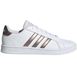 Buty adidas Grand Court Jr EF0101 białe czarne
