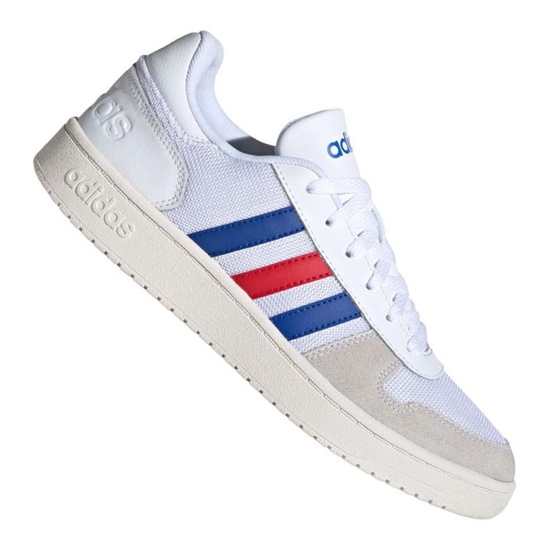 Buty koszykarskie adidas Hoops 2.0 M FW8250 białe białe