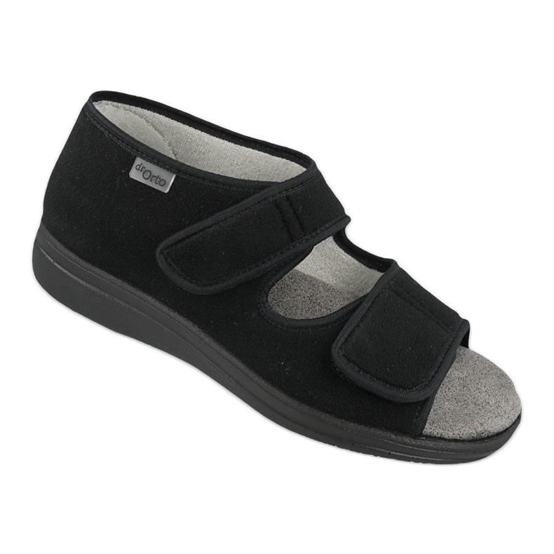 Dr.Orto Befado obuwie damskie 070D001 czarne