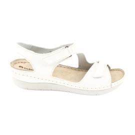 Inblu obuwie damskie sandały 158D113 białe