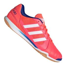 Buty piłkarskie adidas Top Sala M FX6761 wielokolorowe pomarańczowe