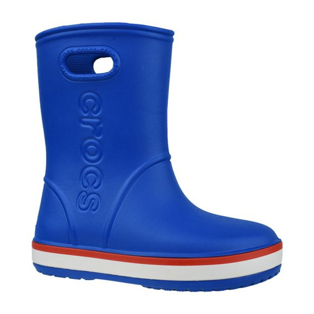 Kalosze Crocs Crocband Rain Boot Kids 205827-4KD niebieskie